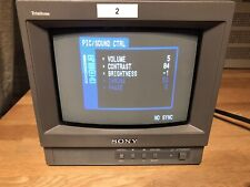 "Sony PVM 9L1 8"" Trinitron Retro Gaming"