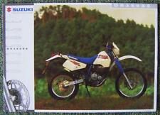 SUZUKI DR350SE MOTORCYCLE SALES BROCHURE-NOV 1994