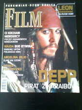 FILM 9/2003 front Johnny Depp in.Angelina Jolie,Lord Of The Rings,Francois Ozon