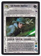 SWCCG Star Wars CCG • Luke Skywalker Rebel Scout Jedi • REFLECTION II 2 • RARE
