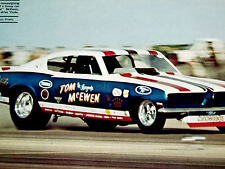 1969 Plymouth Barracuda Funny Car * Tom McEwen *Original Hr Gallery *hood/bumper