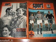 LO SPORT 1952/26=JUVENTUS CAMPIONE D'ITALIA=TOUR DE FRANCE=FORNARA=MILANI=