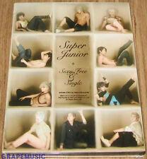 SUPER JUNIOR Sexy, Free & Single 6TH ALBUM TYPE B K-POP CD
