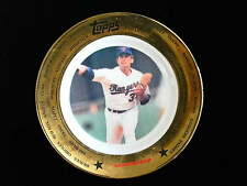 Nolan Ryan Topps collectors plate Rangers