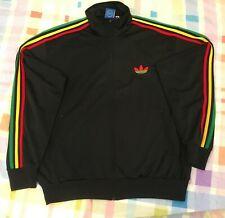 Adidas Originals ADI-Firebird Track Top Jacket RASTA JAMAICA Size XL 680893