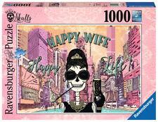 1000 Teile Ravensburger Puzzle Happy Wife Happy Life 19831