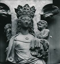 REIMS c. 1957 - Sculptures Architecture Portail Cathédrale  Marne - DIV 9895