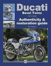 Ducati Bevel Twins 1971-1986 750 860 GT 900 SS Mille Ian Falloon Author signed