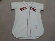 Billy Consolo Game Worn Signed Jersey 1958 Boston Red Sox
