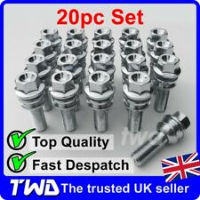 20x WHEEL BOLTS FOR VW AMAROK (OE STYLE) QUALITY ALLOY LUG NUT STUD SET [B50]