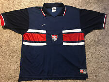 Vintage 90's Men's Large Nike Team Usa Soccer Football World Cup Jersey