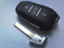 ORIGINALE Citroen DS3 DS4 DS5 etc 3 bottone remoto smart ALLARME Estrazione non tagliata portachiavi