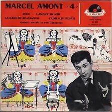 """MARCEL AMONT """"JULIE"""" 50'S EP POLYDOR 20 802"""