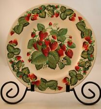 Tabletops Unlimited Very Strawberry Dinner Plate Dishwasher Microwave Oven Safe