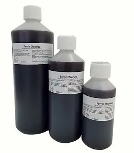 Ferric Chloride Solution 40% Working Strength for PCB Etching, FREE Shipping