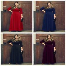Unbranded Plus Size V Neck Formal Dresses for Women