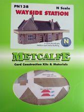 Metcalfe Kit PN138. Wayside Station. . N Scale.