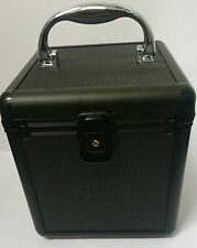 80 DJ box CD box dvd Disc Storage box Flight Carry Case Lockable Black Jewellery