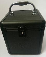 80 DJ BOX CD Box Scatola Di Immagazzinaggio disco DVD Volo Custodia chiudibile a chiave Nero Jewellery