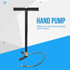 NEW High Pressure 30MPa Hand Air Pump Designed Pressure Gauge&Fixed Foot Pedal