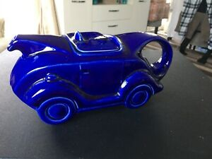 Vintage Racing Car Tea Pot