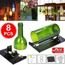 8PCS Bottle Cutter DIY Wine Glass Sculpture Recycl Art Cutting Machine Tool Set
