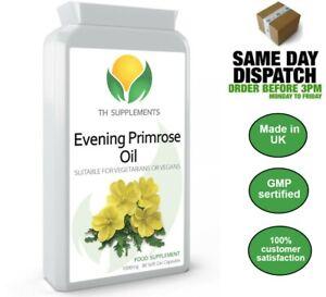 Evening Primrose Oil 1000mg 90 Capsules food supplement