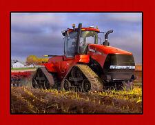 Case IH 500 Steiger Quadtrac Scenic Tractor Panel Fabric Material