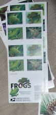 USPS  Frogs Forever Stamps Book Of 20