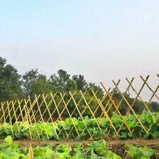 Expanding Bamboo Garden Fence Panel Outdoor Plant Climb Trellis Support