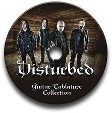 DISTURBED HEAVY METAL ROCK CHITARRA INTAVOLATURE INTAVOLATURA CANTO BOOK