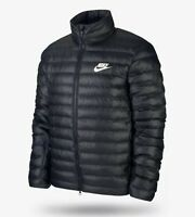 Nike NSW Mens Puffer Jacket Black Size Small Winter Outdoor Hiking BV4685-010