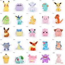 Новая шикарная редкая Pokemon Go Pikachu Плюшевая кукла мягкие игрушки детский подарок