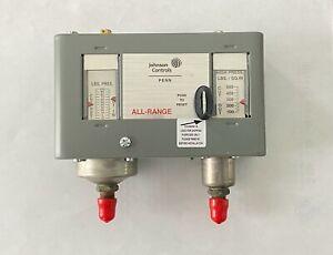 Johnson Controls Dual Pressure Control P170MA-1C
