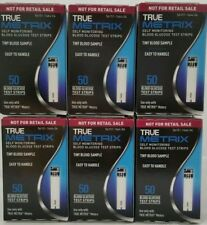 TRUE Metrix Blood Glucose 300 Test Strips (6 Boxes Of 50 Count) Exp: 04/13/2020
