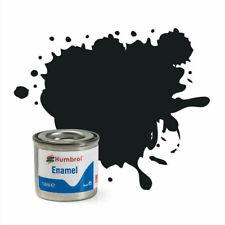 Humbrol 14ml Enamel - Satin Black (85)