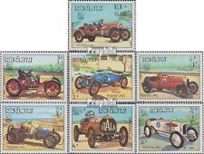 Laos 750-756 (complète edition) neuf avec gomme originale 1984 Vieux voiture de