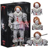 "NECA IT Well House Pennywise Clown 2017 Ultimate 7"" Action Figure 1:12 Scale"