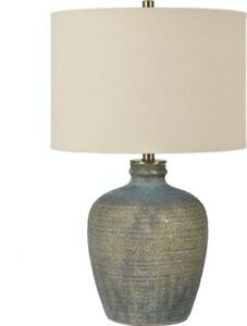 David Lee Collection Lighting Blaze Earthenware Table Lamp CVAZP049A