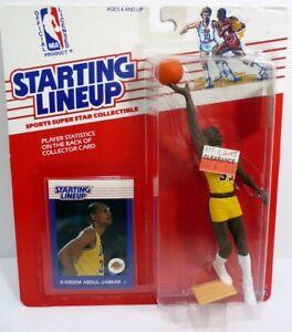 STARTING LINEUP 1988 Kareem Abdul Jabbar Basketball Figure L.A. Lakers MOC