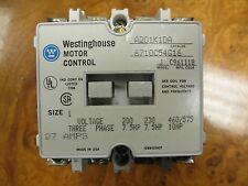 NEW Cutler Hammer A201K1DA NSFP Westinghouse W/ Contactor