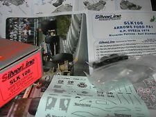 SilverLine Tameo 1:43 KIT SLK 106 Arrows A1 F.1 Ford GP Svezia 1978 Patrese NEW