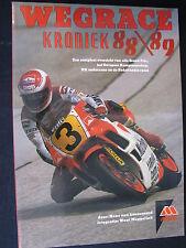 Tijl Book Wegrace Kroniek '88-'89 van Loozenoord / Meppelink (Nederlands) (TTC)