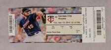 Minnesota Twins Vs Kansas City Royals 4/16/15 Ticket Stub