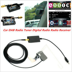 DAB Radio Digital Tuner Receiver For Android Navigation APP DVD USB Antenna Kit