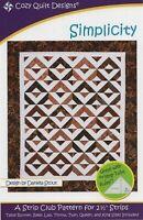 Simplicity  - Cozy Quilt Designs Quilt Pattern