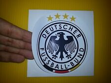 """BEST PRICE!! LOT OF 10 SOCCER DECAL / STICKER GERMANY 5"""" X 5"""""""