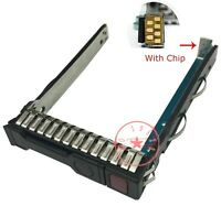 651687-001 2.5 inch Hard Disk Drive Bracket HDD Caddy Tray For HP G8 G9 Server