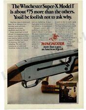 1976 WINCHESTER Model 1 Super-X Shotgun VTG PRINT AD