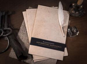1829 Printer's Manuscript 24-Page Replica — Book of Mormon